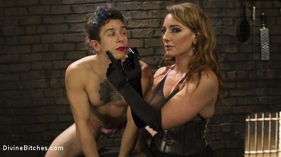 Photo number 9 from A Cuckold On Their Anniversary shot for Divine Bitches on Kink.com. Featuring Savannah Fox, Ruckus and Corbin Dallas in hardcore BDSM & Fetish porn.