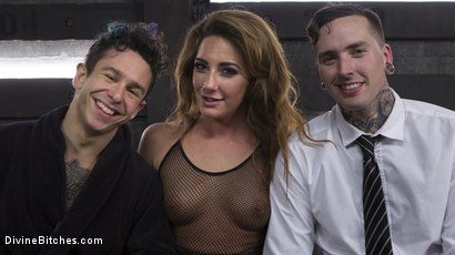 Photo number 7 from A Cuckold On Their Anniversary shot for Divine Bitches on Kink.com. Featuring Savannah Fox, Ruckus and Corbin Dallas in hardcore BDSM & Fetish porn.