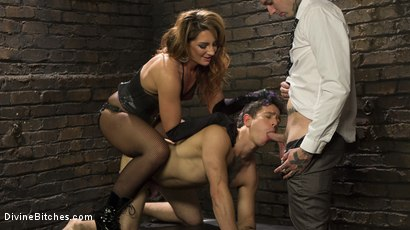 Photo number 10 from A Cuckold On Their Anniversary shot for Divine Bitches on Kink.com. Featuring Savannah Fox, Ruckus and Corbin Dallas in hardcore BDSM & Fetish porn.
