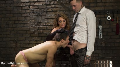Photo number 11 from A Cuckold On Their Anniversary shot for Divine Bitches on Kink.com. Featuring Savannah Fox, Ruckus and Corbin Dallas in hardcore BDSM & Fetish porn.
