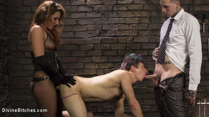 Photo number 3 from A Cuckold On Their Anniversary shot for Divine Bitches on Kink.com. Featuring Savannah Fox, Ruckus and Corbin Dallas in hardcore BDSM & Fetish porn.