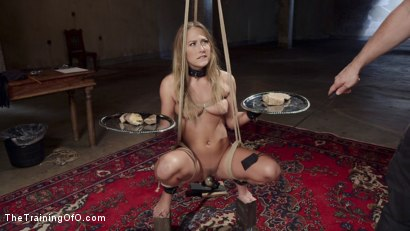 Photo number 2 from Slave Training Carter Cruise, Day One shot for The Training Of O on Kink.com. Featuring Carter Cruise and Owen Gray in hardcore BDSM & Fetish porn.