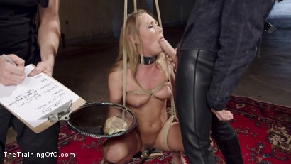 Photo number 5 from Slave Training Carter Cruise, Day One shot for The Training Of O on Kink.com. Featuring Carter Cruise and Owen Gray in hardcore BDSM & Fetish porn.