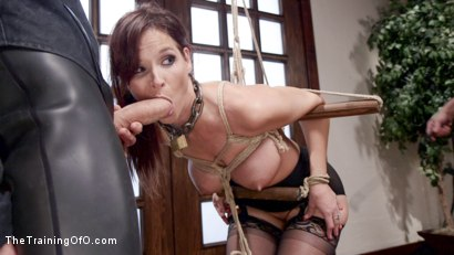 Photo number 7 from Domestic Anal MILF Training Syren de Mer, Day Two shot for The Training Of O on Kink.com. Featuring Owen Gray and Syren de Mer in hardcore BDSM & Fetish porn.