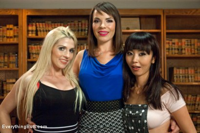 Photo number 15 from Butt Sluts! All Anal Lesbian Kink shot for Everything Butt on Kink.com. Featuring Dana DeArmond, Marica Hase and Christie Stevens in hardcore BDSM & Fetish porn.