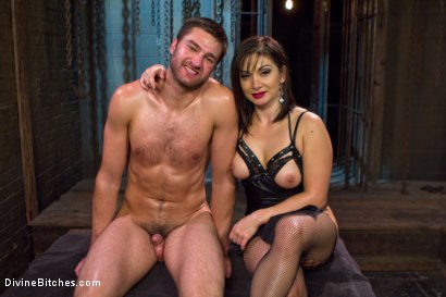Photo number 7 from Oiled Ass Worship and Power Tools shot for Divine Bitches on Kink.com. Featuring Abel Archer and Lea Lexis in hardcore BDSM & Fetish porn.
