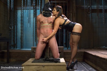 Photo number 1 from Oiled Ass Worship and Power Tools shot for Divine Bitches on Kink.com. Featuring Abel Archer and Lea Lexis in hardcore BDSM & Fetish porn.