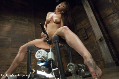 Photo number 15 from Rayndee James and The FuckingMachines shot for Fucking Machines on Kink.com. Featuring Rahyndee James in hardcore BDSM & Fetish porn.