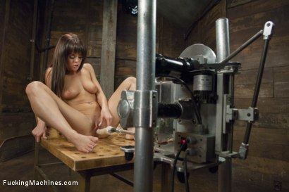 Photo number 13 from Rayndee James and The FuckingMachines shot for Fucking Machines on Kink.com. Featuring Rahyndee James in hardcore BDSM & Fetish porn.