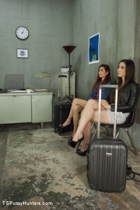Photo number 1 from Airport Security Forgets 2 Hotties in Secondary They fuck to pass time shot for TS Pussy Hunters on Kink.com. Featuring Brenda Von Tease and Lea Hart in hardcore BDSM & Fetish porn.