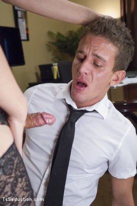 Photo number 4 from Take Your Blackmail and SHOVE IT UP YOUR ass on the end of My Cock shot for TS Seduction on Kink.com. Featuring Venus Lux and Alexander Gustavo in hardcore BDSM & Fetish porn.
