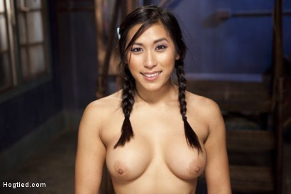 Photo number 15 from Mia Li's First Anal Bondage shot for Hogtied on Kink.com. Featuring Mia Little in hardcore BDSM & Fetish porn.