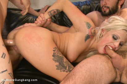 Photo number 14 from Horror Whore's gangbang dream comes true!! shot for Hardcore Gangbang on Kink.com. Featuring Vyxen Steel, Owen Gray, Tommy Pistol, John Strong, Gage Sin and Alex Legend in hardcore BDSM & Fetish porn.