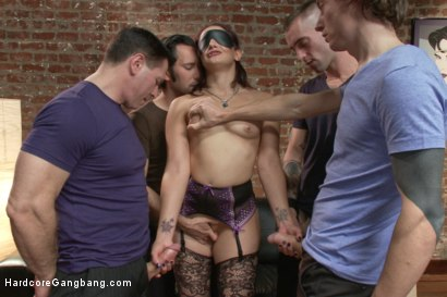 Photo number 6 from Dirty girlfriend Sheena Ryder gets covered in cum shot for Hardcore Gangbang on Kink.com. Featuring John Strong, Owen Gray, Gage Sin, Tommy Pistol and Sheena Ryder in hardcore BDSM & Fetish porn.