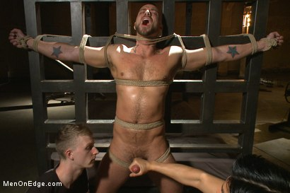 Photo number 5 from Jessie Colter edged and cum on his face shot for Men On Edge on Kink.com. Featuring Jessie Colter in hardcore BDSM & Fetish porn.