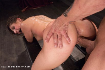 Photo number 8 from The 19 Year Old Submissive shot for Sex And Submission on Kink.com. Featuring Abella Danger and Mr. Pete in hardcore BDSM & Fetish porn.