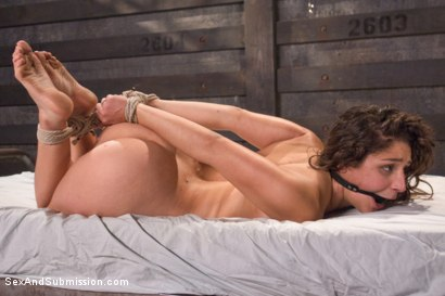 Photo number 13 from The 19 Year Old Submissive shot for Sex And Submission on Kink.com. Featuring Abella Danger and Mr. Pete in hardcore BDSM & Fetish porn.