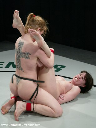 Photo number 15 from  The Jester (1-3)<br>The Grappler (3-3) shot for Ultimate Surrender on Kink.com. Featuring Dee Williams and Dana DeArmond in hardcore BDSM & Fetish porn.