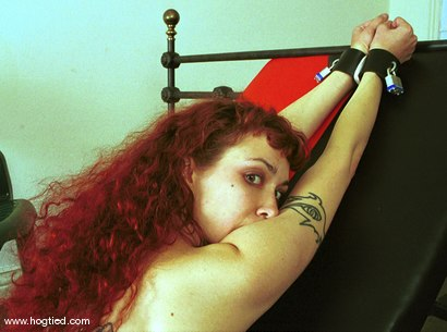 Photo number 11 from Pandora shot for Hogtied on Kink.com. Featuring Pandora in hardcore BDSM & Fetish porn.