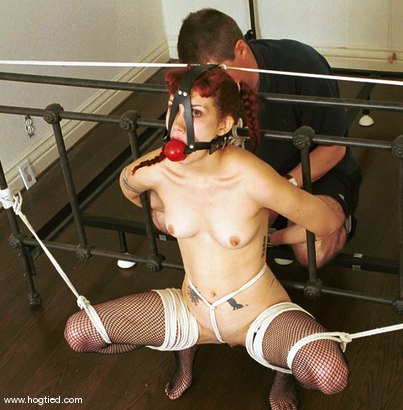 Photo number 9 from Pandora shot for Hogtied on Kink.com. Featuring Pandora in hardcore BDSM & Fetish porn.