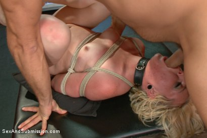 Photo number 14 from Fresh Face Bondage Virgin shot for Sex And Submission on Kink.com. Featuring Miley May and Ramon Nomar in hardcore BDSM & Fetish porn.