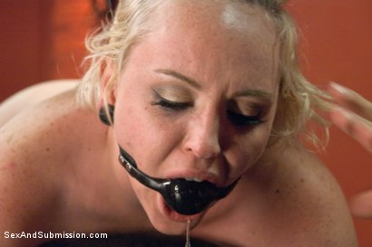 Photo number 9 from Fresh Face Bondage Virgin shot for Sex And Submission on Kink.com. Featuring Miley May and Ramon Nomar in hardcore BDSM & Fetish porn.