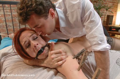 Photo number 13 from The Disobedient Wife shot for Sex And Submission on Kink.com. Featuring James Deen and Chanel Preston in hardcore BDSM & Fetish porn.