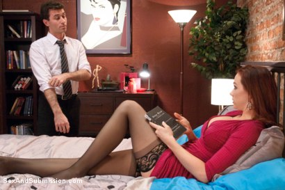 Photo number 3 from The Disobedient Wife shot for Sex And Submission on Kink.com. Featuring James Deen and Chanel Preston in hardcore BDSM & Fetish porn.