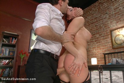 Photo number 7 from The Disobedient Wife shot for Sex And Submission on Kink.com. Featuring James Deen and Chanel Preston in hardcore BDSM & Fetish porn.