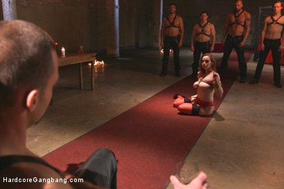 Photo number 13 from Queen pussy stuffed chock full of cock and cum! shot for Hardcore Gangbang on Kink.com. Featuring Bella Rossi, John Strong, Karlo Karrera, Owen Gray, Ramon Nomar and James Bondage in hardcore BDSM & Fetish porn.