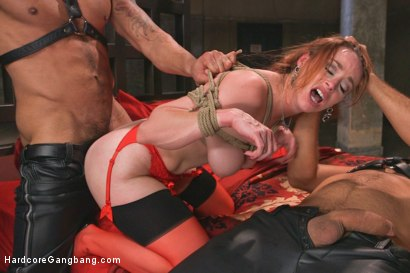 Photo number 9 from Queen pussy stuffed chock full of cock and cum! shot for Hardcore Gangbang on Kink.com. Featuring Bella Rossi, John Strong, Karlo Karrera, Owen Gray, Ramon Nomar and James Bondage in hardcore BDSM & Fetish porn.