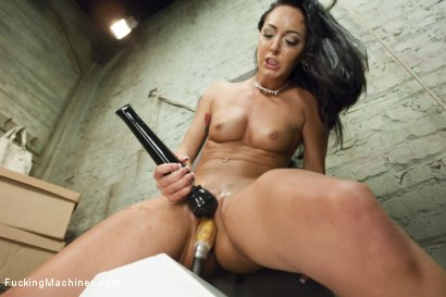 Photo number 11 from Hot Babe, Cold Steel - A Fucking Stellar Update shot for Fucking Machines on Kink.com. Featuring Sabrina Banks in hardcore BDSM & Fetish porn.