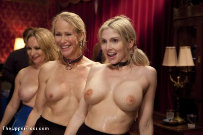 Photo number 15 from Costume Anal Orgy, Part One shot for The Upper Floor on Kink.com. Featuring Ramon Nomar, Penny Pax, Aiden Starr, Bill Bailey, Christie Stevens, Yhivi and Simone Sonay in hardcore BDSM & Fetish porn.