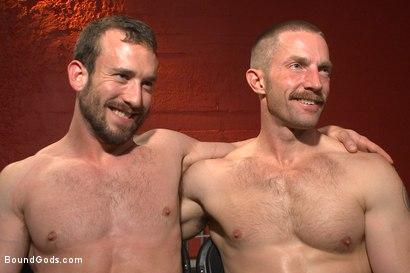 Photo number 15 from Unwilling Onyx Recruit Mike Gaite - The Onyx & The Redz Series shot for Bound Gods on Kink.com. Featuring Adam Herst and Mike Gaite in hardcore BDSM & Fetish porn.