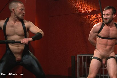 Photo number 14 from Unwilling Onyx Recruit Mike Gaite - The Onyx & The Redz Series shot for Bound Gods on Kink.com. Featuring Adam Herst and Mike Gaite in hardcore BDSM & Fetish porn.