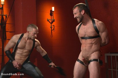 Photo number 9 from Unwilling Onyx Recruit Mike Gaite - The Onyx & The Redz Series shot for Bound Gods on Kink.com. Featuring Adam Herst and Mike Gaite in hardcore BDSM & Fetish porn.