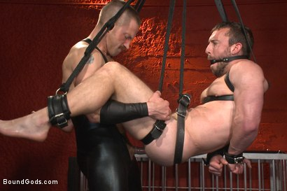 Photo number 12 from Unwilling Onyx Recruit Mike Gaite - The Onyx & The Redz Series shot for Bound Gods on Kink.com. Featuring Adam Herst and Mike Gaite in hardcore BDSM & Fetish porn.