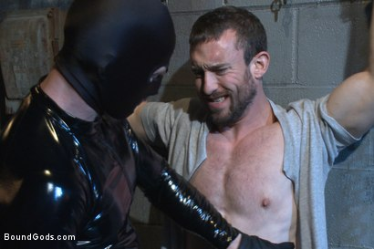 Photo number 8 from Unwilling Onyx Recruit Mike Gaite - The Onyx & The Redz Series shot for Bound Gods on Kink.com. Featuring Adam Herst and Mike Gaite in hardcore BDSM & Fetish porn.