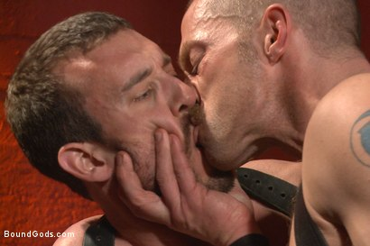 Photo number 10 from Unwilling Onyx Recruit Mike Gaite - The Onyx & The Redz Series shot for Bound Gods on Kink.com. Featuring Adam Herst and Mike Gaite in hardcore BDSM & Fetish porn.