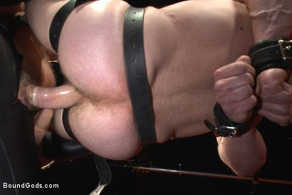 Photo number 11 from Unwilling Onyx Recruit Mike Gaite - The Onyx & The Redz Series shot for Bound Gods on Kink.com. Featuring Adam Herst and Mike Gaite in hardcore BDSM & Fetish porn.
