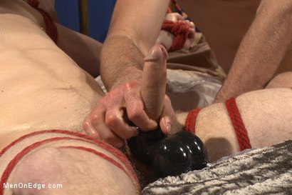 Photo number 11 from Happy Holidays Live Shoot - Vanta Claus brings two gifts for you! shot for Men On Edge on Kink.com. Featuring Jonah Marx and Sebastian Keys in hardcore BDSM & Fetish porn.