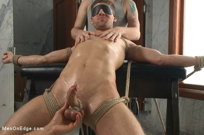 Photo number 4 from Connor Halsted shoots a load into his own mouth! shot for Men On Edge on Kink.com. Featuring Connor Halsted in hardcore BDSM & Fetish porn.