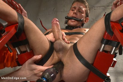 Photo number 9 from Edging hot, uncut cock in prison shot for Men On Edge on Kink.com. Featuring Alexander Gustavo in hardcore BDSM & Fetish porn.
