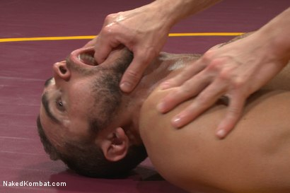 "Photo number 14 from Brock ""The Big Show"" Avery vs Alexander ""The Great"" Gustavo shot for Naked Kombat on Kink.com. Featuring Alexander Gustavo and Brock Avery in hardcore BDSM & Fetish porn."