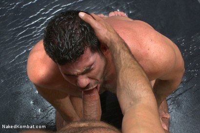 Photo number 8 from Top Cock: Huge muscles, raging hard cock and don't forget the oil! shot for Naked Kombat on Kink.com. Featuring Billy Santoro and Nick Capra in hardcore BDSM & Fetish porn.
