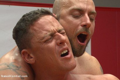"Photo number 13 from Ivan ""The Terrible"" Gregory vs Jessie ""Cut-Throat"" Colter  shot for Naked Kombat on Kink.com. Featuring Jessie Colter and Ivan Gregory in hardcore BDSM & Fetish porn."