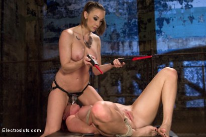 Photo number 17 from Ultimate Painslut Faces Off With Electricity shot for Electro Sluts on Kink.com. Featuring Chanel Preston and Sophia Locke in hardcore BDSM & Fetish porn.