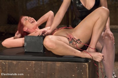 Photo number 7 from Ultimate Painslut Faces Off With Electricity shot for Electro Sluts on Kink.com. Featuring Chanel Preston and Sophia Locke in hardcore BDSM & Fetish porn.