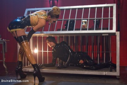 Photo number 2 from Slippery When Wet shot for Divine Bitches on Kink.com. Featuring Mona Wales and Tony Orlando in hardcore BDSM & Fetish porn.