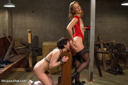 Photo number 11 from The Holiest of Holes: Anal Lesbian Blasphemy! shot for Whipped Ass on Kink.com. Featuring Mona Wales and Audrey Noir in hardcore BDSM & Fetish porn.